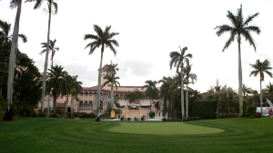 The Mar-A-Lago Club, owned by Republican presidential candidate Donald Trump is seen in Palm Beach, Fla., on March 11, 2016. (Lynne Sladky / AP)