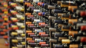 Wine bottles are seen in this file photo. (AP)