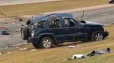 Jeep Liberty - McKnight Boulevard fatal rollover