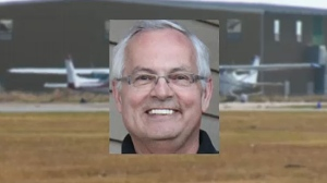 Jim Kruk, the pilot of a small plane that went down shortly after takeoff in Kelowna last week, will be remembered in a memorial service in Airdrie on Friday.