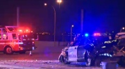 Crowchild Trail - officer injured in traffic stop