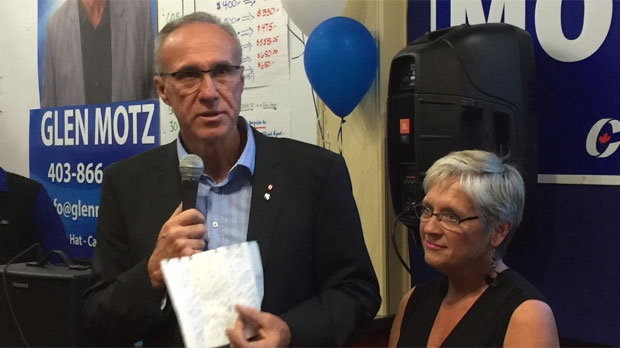 Tory Glen Motz took the byelection by a wide margin.