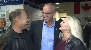 Glen Motz won the byelection in Medicine Hat-Cardston-Warner with about 70 percent of the popular vote.