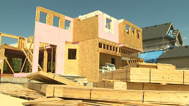 A report from the Fraser Institute says that red tape is putting up a big roadblock for home development in Calgary.