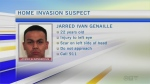 Suspect sought in home invasion