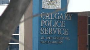 Calgary police office