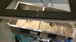Calgary condo - damaged kitchen sink