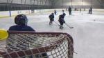 Springbank artificial ice