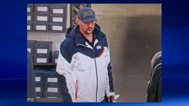 CrossIron Mills - suspect in assault