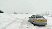 Highway crash near Calgary - Dec 4, 2016 snow