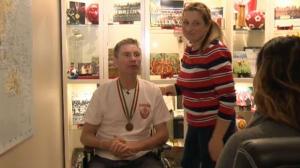 Janusz Dobrowolski - paralyzed in fall