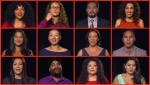 """Using data from Statistics Canada, the TSO invited singers to record """"O Canada"""" in the 12 most commonly spoken languages nationwide.(Toronto Symphony Orchestra)"""