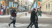 Cold weather arrives in Calgary