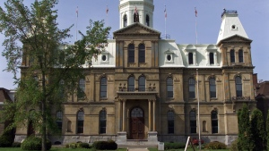 The New Brunswick Legislative Building is seen in this undated photo.