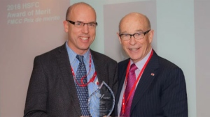 Dr. Michael Hill was the recipient of the 2016 Heart and Stroke Foundation of Canada's Award of Merit