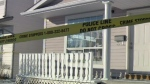 Monterey Park - homicide crime scene