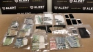 ALERT seized 271 fentanyl pills, a loaded handgun, cash and cars in an investigation into fentanyl trafficking in Lethbridge and Coaldale.