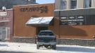 Lethbridge police allege that two women left their children locked inside a car in sub-zero temperatures while they were inside this bar on Thursday night.