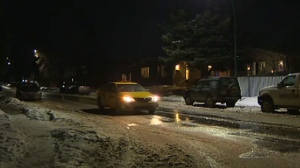 The 1000 block of McKinnon Drive NE following the theft of an SUV with children inside.