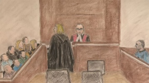 A jury of 14 is hearing the triple murder trial for Douglas Garland in a Calgary Courtroom. (Courtesy: Janice Fletcher)