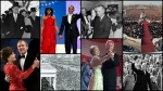 From Dwight D. Eisenhower to Barack Obama, here's a look back at U.S. Presidential inaugurations over the past six decades.