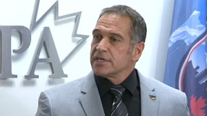 Les Kaminski, the head of the Calgary Police Association has been charged along with another officer in connection with an arrest in 2008.