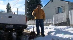 Slushy snow removal