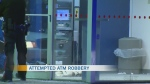 Attempted robbery from ATM
