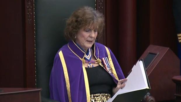 Hon. Lt. Gov. Lois Mitchell