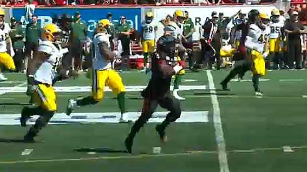 The Stampeders defeat Eskimos in Labour Day Classi