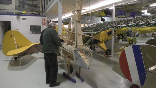 Calgary man hand builds replica Second World War aircraft