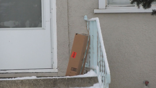 calgary, porch pirate, package, ups, canada post,