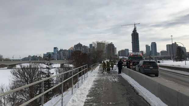 Bow River, Bow Trail, car, barrier, crash