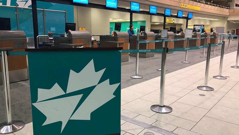 WestJet, Calgary International Airport,