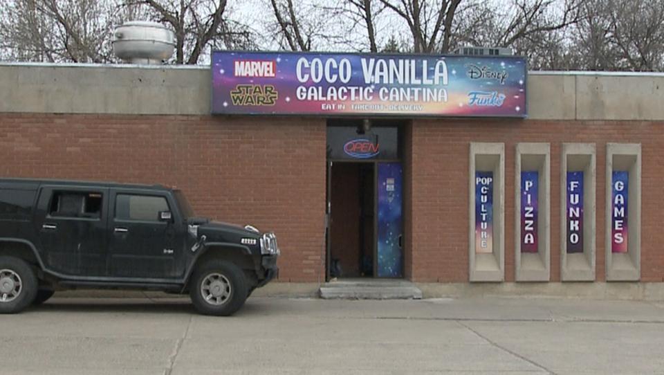 Coco Vanilla Galactic Cantina, Star Wars,