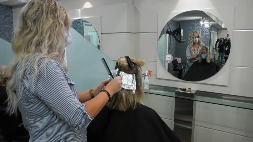 Hair salon, COVID 19