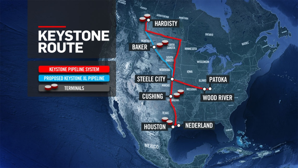 keystone pipeline, oil and gas, alberta, energy, c