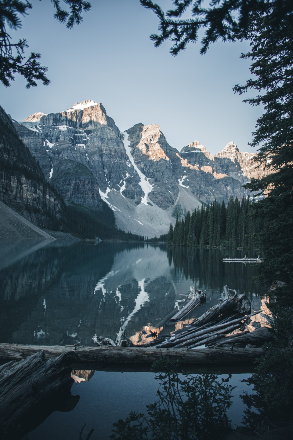 Moraine Lake, Jacob, photo of the day