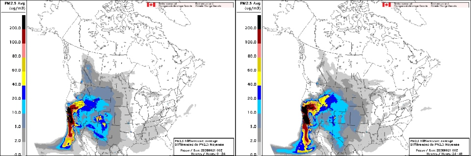 FireWork Canada's Wildfire Smoke Prediction System