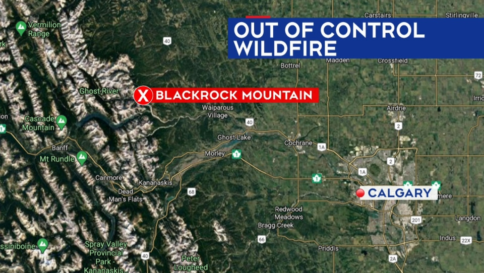 calgary, wildfire, banff national park, benchlands