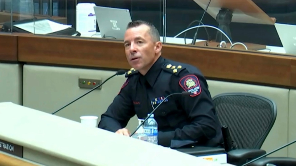 Calgary police Chief Mark Neufeld