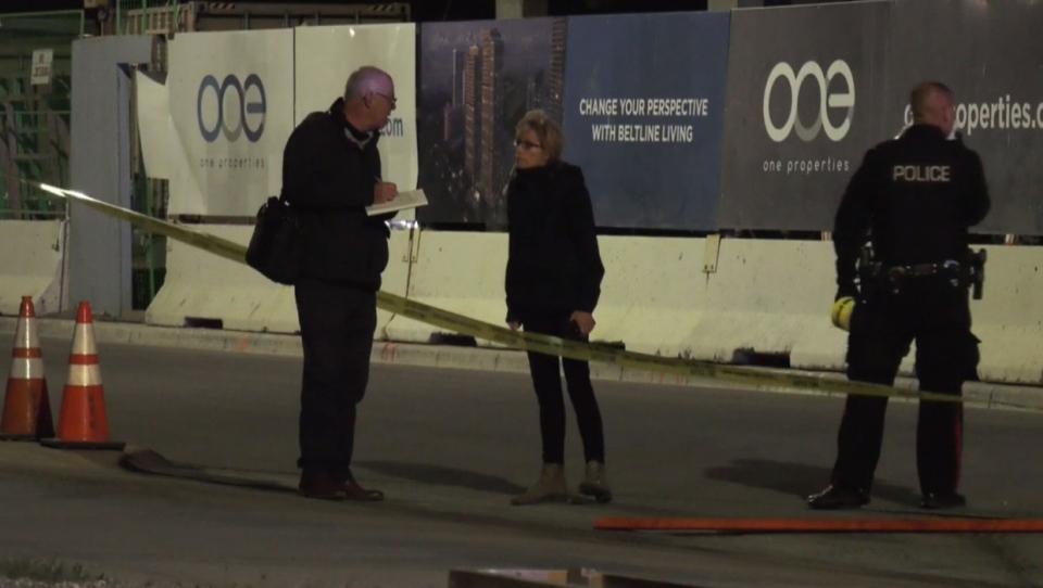 calgary, calgary police, shooting, 12 avenue, 1 st