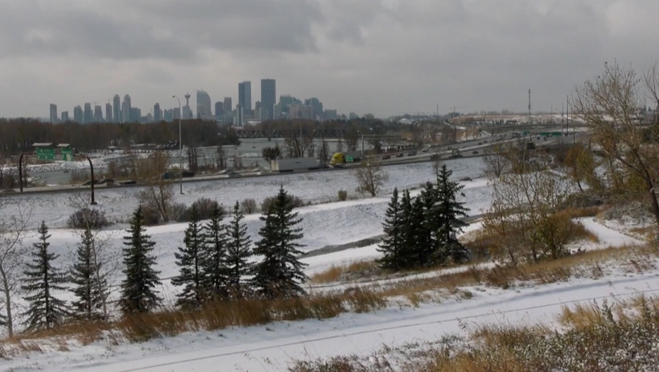 calgary, abstorm, weather, winter, october, autumn