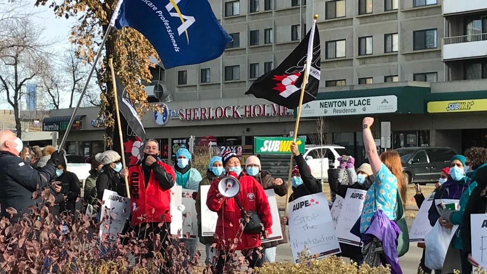 University of Alberta Hospital strike