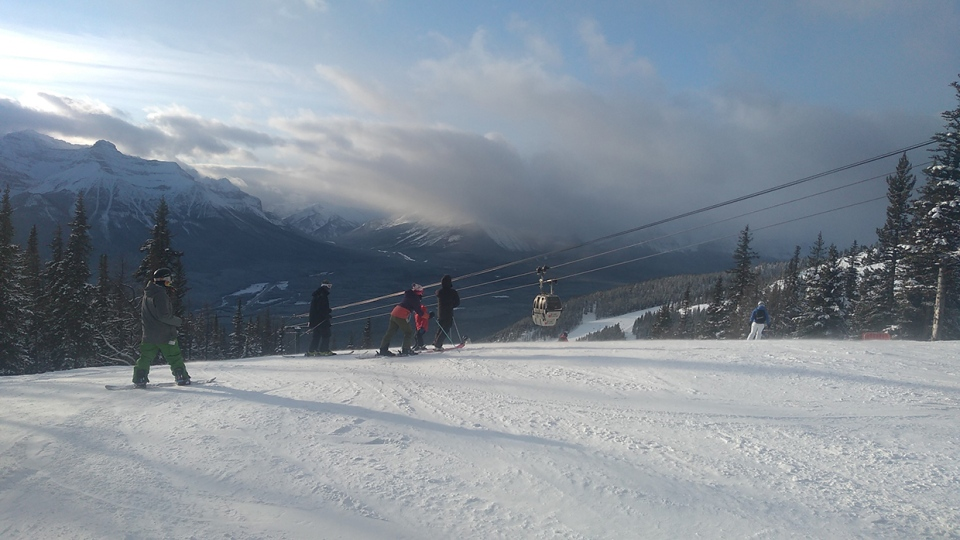 Lake Louise, ski resort, Dave, Nov. 22