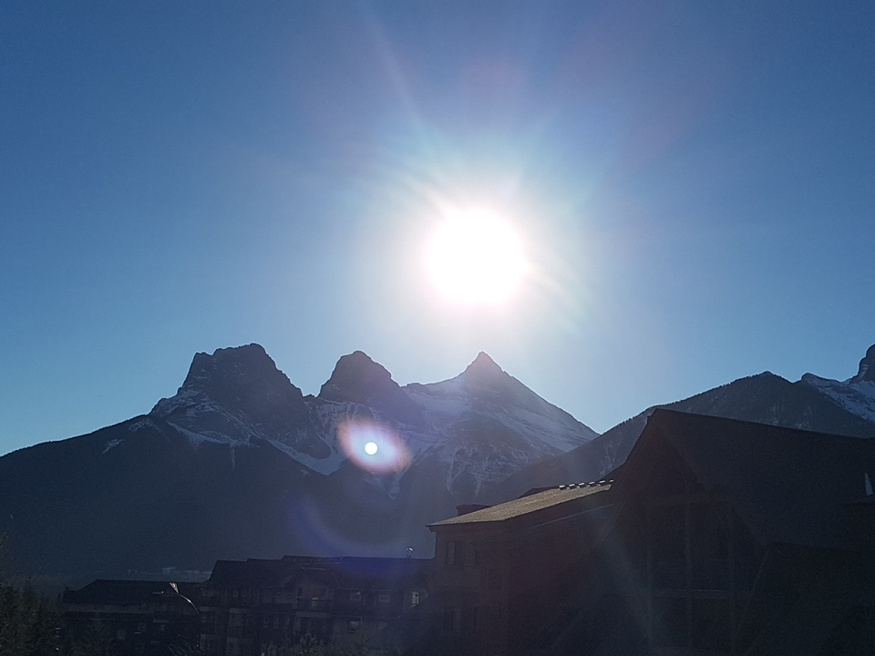 Three Sisters, Canmore, Connie