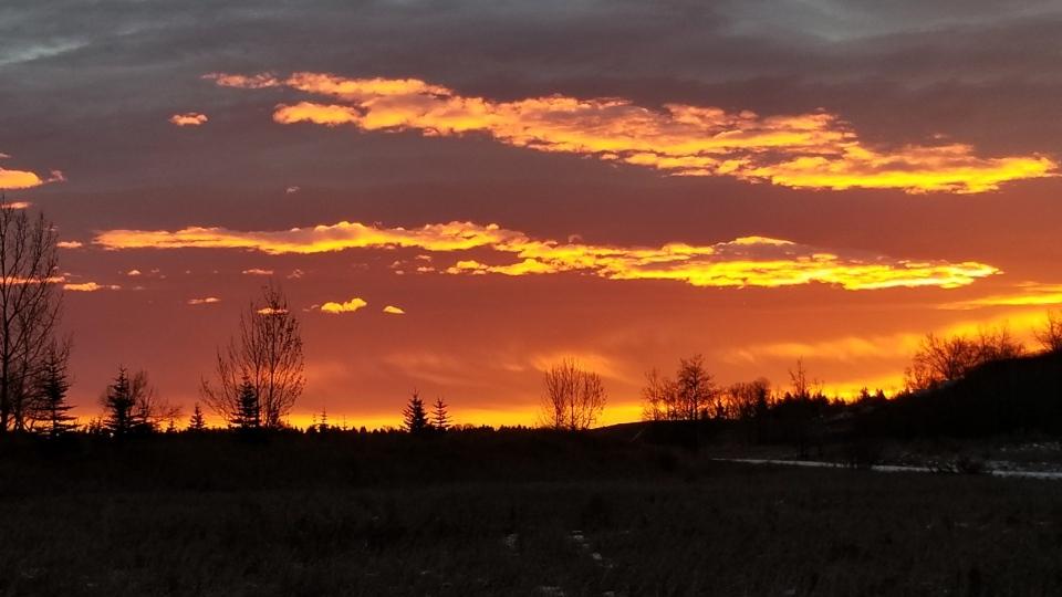 Christine Fish Creek sunset