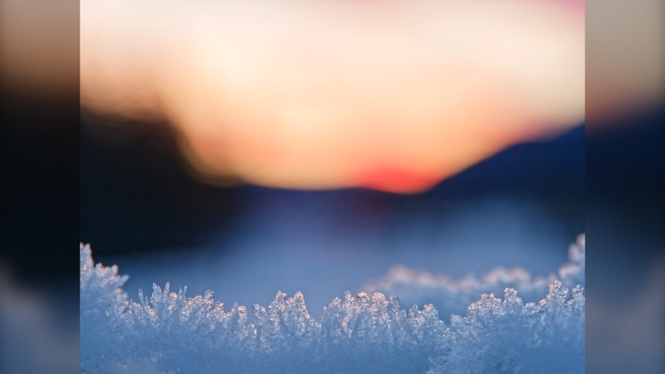 Calgary snow Denise weather pic
