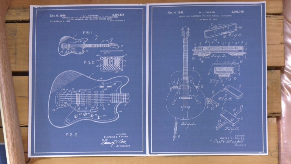calgary, guitar, kevin gullion, vintage, custom ma