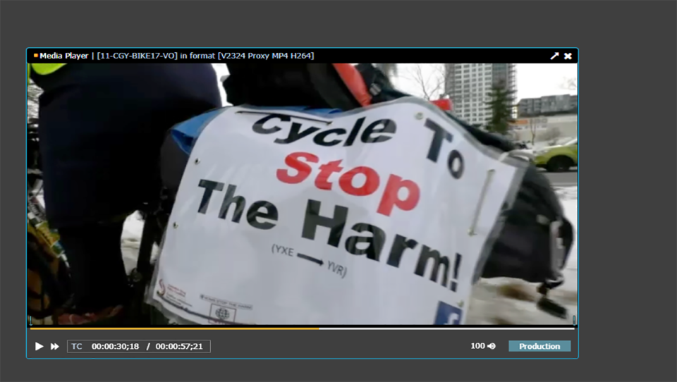 Cycle to stop the harm